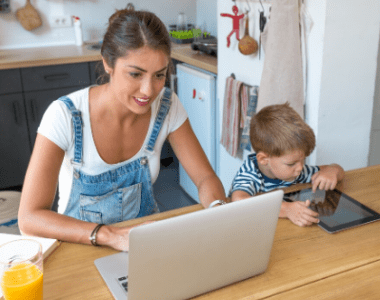 technology for working at home