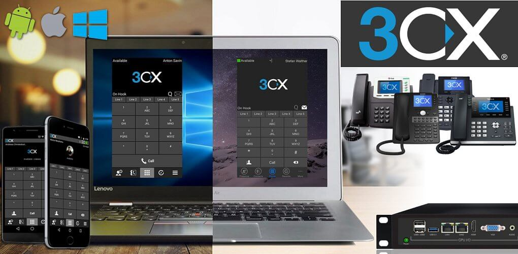 3CX software PBX systems