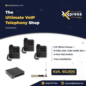 VoIP Telephony with Free Installation
